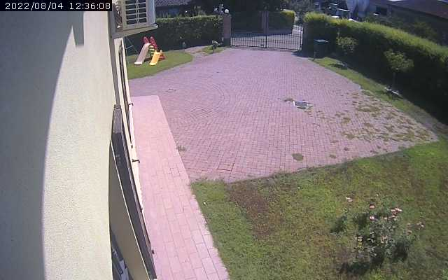 Fidenza garden security cam